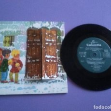 Discos de vinilo: JOYA EP .1969.COLUMBIA N 69.QE 1775/76.BOM NATAL/FELICES PASCUAS/MERRY CHRISTMAS.PORTADA TROQUELADA.. Lote 189374818
