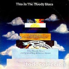 Discos de vinilo: THE MOODY BLUES ‎– THIS IS THE MOODY BLUES. Lote 189375380