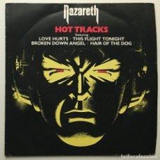 Discos de vinilo: NAZARETH – HOT TRACKS UK 1977 MOUNTAIN. Lote 189381508
