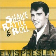 Discos de vinilo: ELVIS PRESLEY * LP 180G * SHAKE RATTLE & ROLL * REMASTERED 2017 * RARE * PRECINTADO!!. Lote 189384846