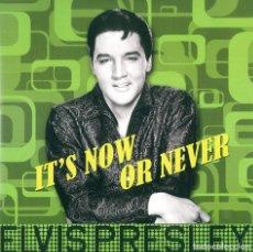 Discos de vinilo: ELVIS PRESLEY * LP 180G * IT'S NOW OR NEVER * REMASTERED 2017 * RARE * PRECINTADO!!. Lote 189384983