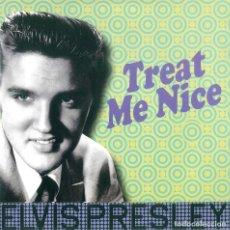 Discos de vinilo: ELVIS PRESLEY * LP 180G * TREAT ME NICE * REMASTERED 2017 * RARE * PRECINTADO!!. Lote 189385178