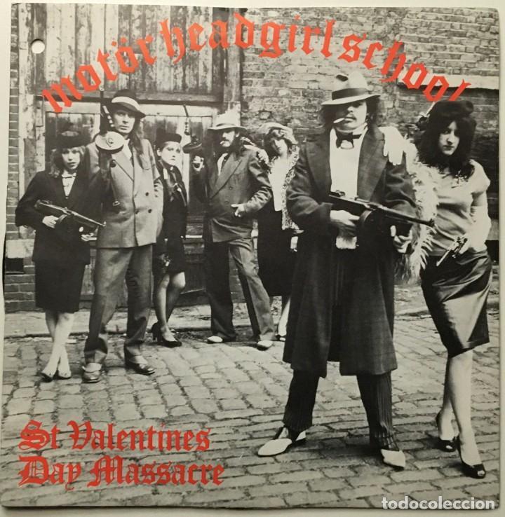 MOTÖRHEAD, GIRLSCHOOL – ST VALENTINES DAY MASSACRE UK 1981 BRONCE (Música - Discos - Singles Vinilo - Heavy - Metal)