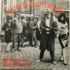 Discos de vinilo: MOTÖRHEAD, GIRLSCHOOL – ST VALENTINES DAY MASSACRE UK 1981 BRONCE. Lote 189393361