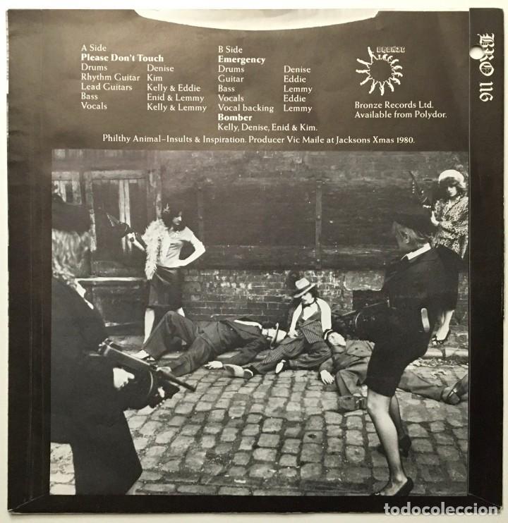 Discos de vinilo: Motörhead, Girlschool – St Valentines Day Massacre UK 1981 BRONCE - Foto 2 - 189393361