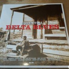 Discos de vinilo: ESSENTIAL DELTA BLUES. LP VINILO PRECINTADO.. Lote 189394210