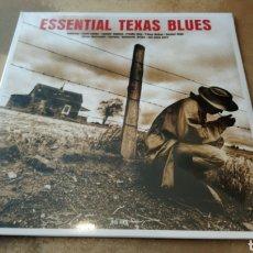 Discos de vinilo: ESSENTIAL TEXAS BLUES. LP VINILO PRECINTADO.. Lote 189394320