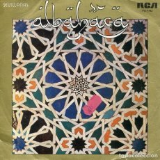 Discos de vinilo: ALBAHACA / PASA LA VIDA / RESIGNACVION (SINGLE RCA 1983). Lote 189397276