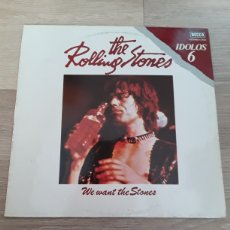 Discos de vinilo: THE ROLLING STONES WE WANT STONES. Lote 189400192