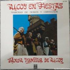 Discos de vinilo: VINILO MARCHAS DE MOROS Y CRISTIANOS. Lote 189405146