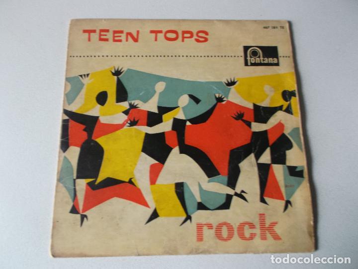 LOS TEEN TOPS - REY CRIOLLO / MUCHACHO TRISTE Y SOLITARIO / TUTTI FRUTI / LUCILA (EP 1961) (Música - Discos de Vinilo - EPs - Rock & Roll)