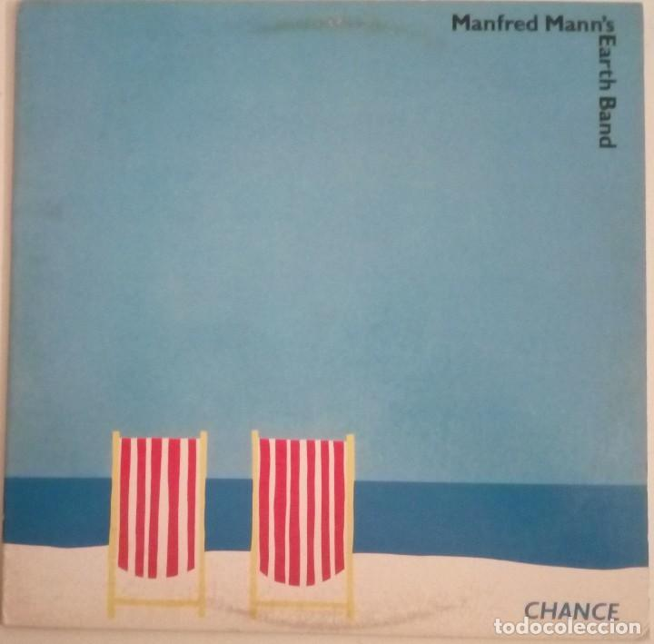 MANFRED MANN'S EARTH BAND...CHANCE.(WARNER BROS. 12 JAN 1981) USA (Música - Discos - LP Vinilo - Pop - Rock - Extranjero de los 70)