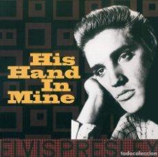 Discos de vinilo: ELVIS PRESLEY * LP 180G * HIS HAND IN MINE (THE GOSPEL ALBUM) REMASTERED 2017 * RARE * PRECINTADO!!. Lote 189412007