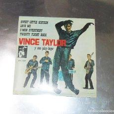 Discos de vinilo: VINCE TAYLOR --- SWEET LITTLE SIXTEEN & C´MON EVERYBODY +2 AÑO 1961***COL***. Lote 180943235