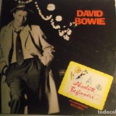 Disques de vinyle: DAVID BOWIE-ABSOLUTE BEGINNERS-ORIGINAL ESPAÑOL. Lote 189435788
