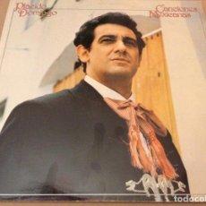 Discos de vinilo: PLACIDO DOMINGO - CANCIONES MEXICANAS. CBS / 1982.. Lote 189438825