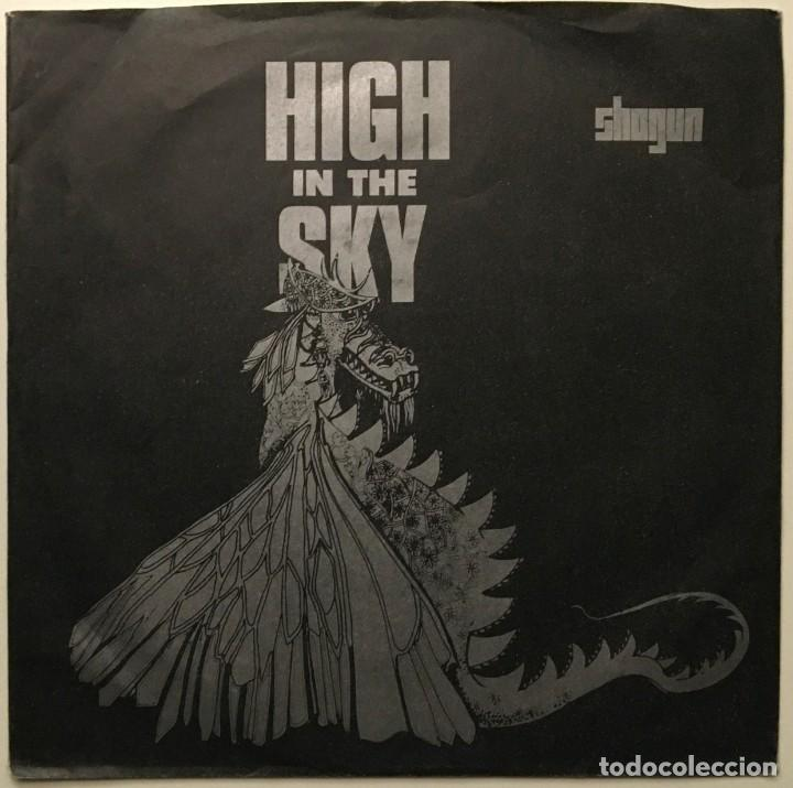 SHOGUN ?– HIGH IN THE SKY - WHEN THE LIGHTS GO DOWN UK 1986 ATTACK (Música - Discos - Singles Vinilo - Heavy - Metal)
