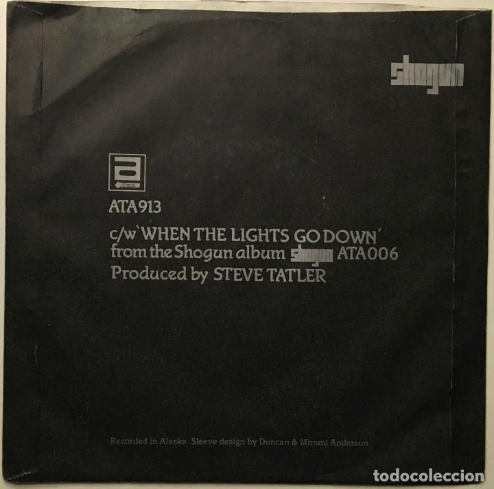 Discos de vinilo: Shogun ?– High In The Sky - When The Lights Go Down UK 1986 ATTACK - Foto 2 - 189441768
