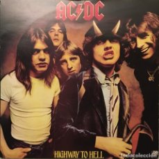 Discos de vinilo: AC/DC ‎– HIGHWAY TO HELL - IF YOU WANT BLOOD (YOU'VE GOT IT) UK 1979 ATLANTIC. Lote 189444380