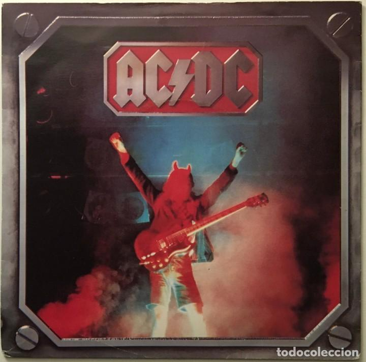 AC/DC – HIGH VOLTAGE (LIVE VERSION) - LIVE WIRE UK 1980 ATLANTIC (Música - Discos - Singles Vinilo - Heavy - Metal)