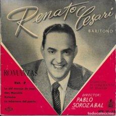 Discos de vinilo: RENATO CESARI ROMANZAS VOL 2 HISPAVOX . Lote 189465267