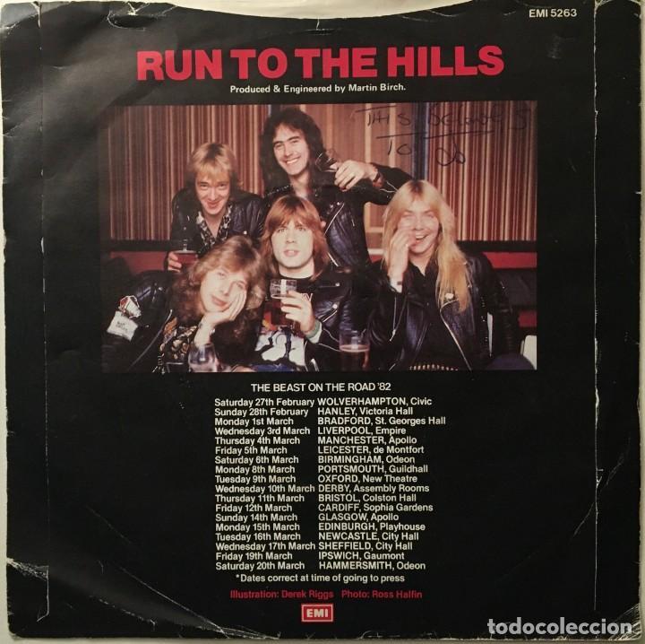 Discos de vinilo: Iron Maiden – Run To The Hills - Total Eclipse UK 1982 EMI - Foto 2 - 189466680