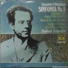 Discos de vinilo: VINILO GUSTAV MAHLER SINFONÍA N°5. Lote 189466805