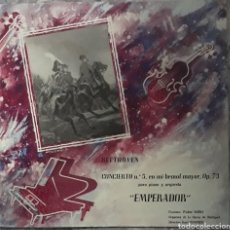 Discos de vinilo: VINILO BEETHOVEN CONCIERTO N°5 EMPERADOR. Lote 189470960