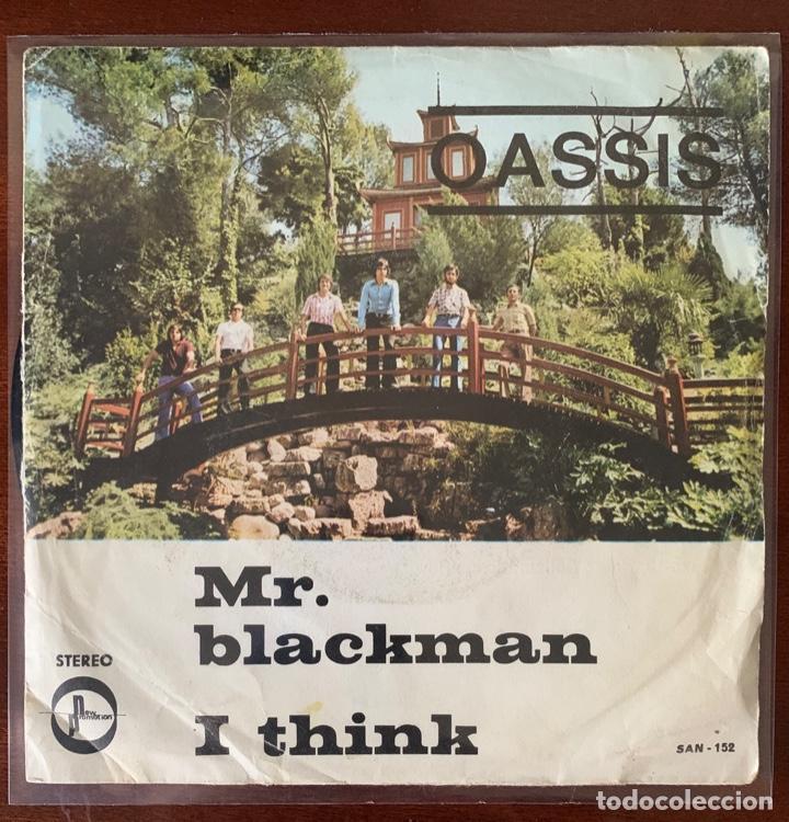 """OASSIS """"MR BLACKMAN / I THINK """" NEW PROMOTION 1975 RARO PSYCH POP RIOSEGURA (Música - Discos - Singles Vinilo - Grupos Españoles de los 70 y 80)"""