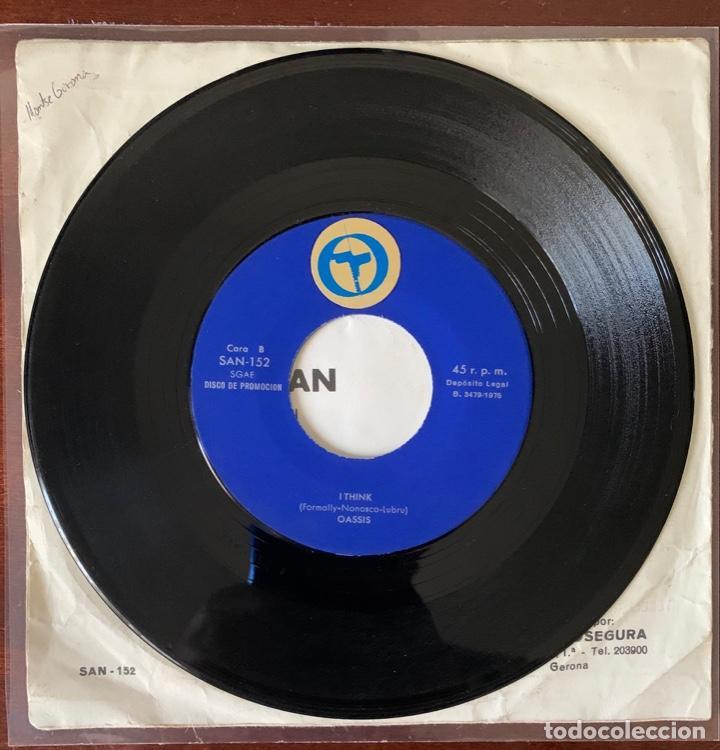 "Discos de vinilo: Oassis ""mr Blackman / i think "" new promotion 1975 raro psych pop riosegura - Foto 4 - 189479553"