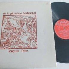Disques de vinyle: JOAQUIN DIAZ-LP DE LA PICARESCA TRADICIONAL. Lote 189480591