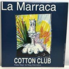 Discos de vinilo: LA MARRACA COTTON CLUB, P. FUCKERS-DR. EXPLOSION-VIVORAS-BUM (? 1995) LLEIDA. Lote 189481802