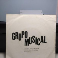 Discos de vinilo: EP GRUPO MUSICAL LA SALLE : GODSPELL (DAY BY DAY & PREPAR + HAIR ( LET THE SUNSHINE IN & AQUARIUS ). Lote 189482246