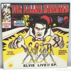 Disques de vinyle: THE KILLER BARBIES, ELVIS LIVE EP (SUBTERFUGE 1994). Lote 189500360