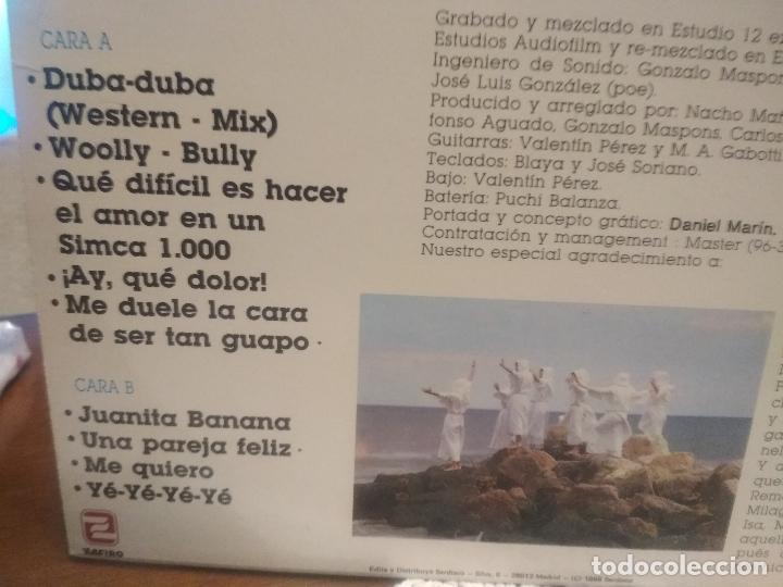 Discos de vinilo: LOS INHUMANOS - 30 HOMBRES SOLOS - LP 1988 PDELUXE - Foto 3 - 189504396