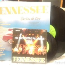 Discos de vinilo: TENNESSEE - EXITOS DE ORO LP [INCLUYE SINGLE DE REGALO] TENNESSE PEPETO. Lote 189508347