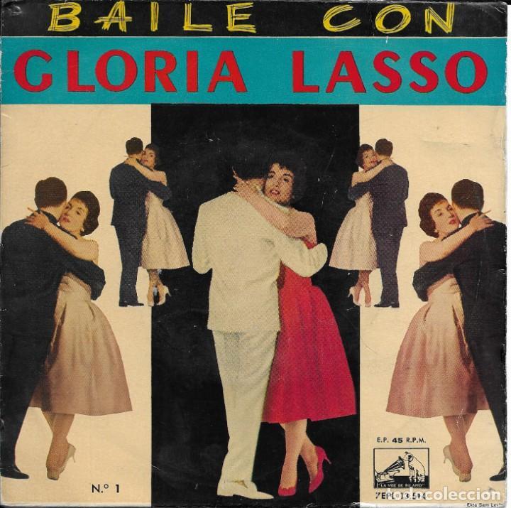 Discos de vinilo: GLORIA LASSO BAILE CON... VOLUMENES 1 Y 2 LA VOZ DE SU AMO 1960 - Foto 2 - 189509645