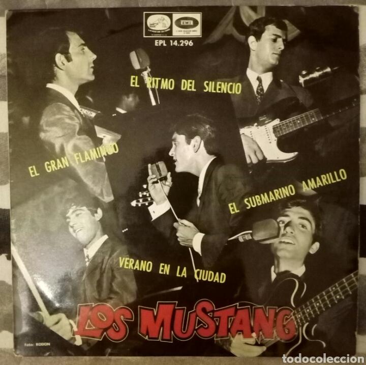 LOS MUSTANG - SUBMARINO AMARILLO + 3 (Música - Discos de Vinilo - EPs - Grupos Españoles 50 y 60)