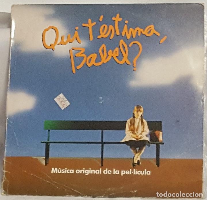 LP / B.S.O. / QUI T'ESTIMA, BABEL? / 1988 (Música - Discos - LP Vinilo - Bandas Sonoras y Música de Actores )