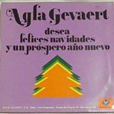 Discos de vinilo: LP / AGFA GEVAERT DESEA FELICES NAVIDADES Y PROSPERO AÑO NUEVO / 1966. Lote 189523133