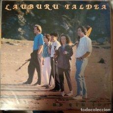 Discos de vinilo: LAUBURU TALDEA - UR ETA LUR - VINYL - ALBUM. Lote 189531267