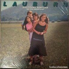 Discos de vinilo: LAUBURU TALDEA - BALTZAKO KONTUAK - VINYL - ALBUM. Lote 189531280