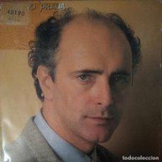 Discos de vinilo: AMANCIO PRADA - CALIZ - A UN ALCOTAN - VINYL - SINGLE. Lote 189531565