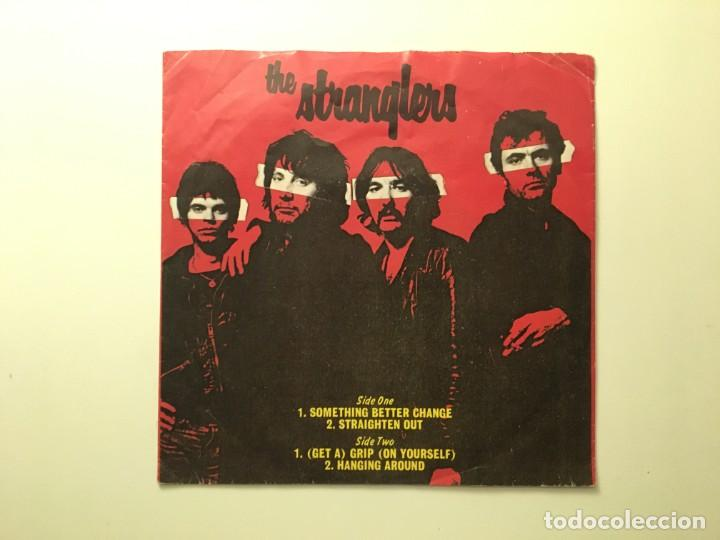 THE STRANGLERS – THE STRANGLERS US 1977 EP A&M RECORDS (Música - Discos de Vinilo - EPs - Punk - Hard Core)