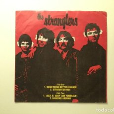 Discos de vinilo: THE STRANGLERS – THE STRANGLERS US 1977 EP A&M RECORDS. Lote 189533903