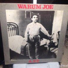 Discos de vinilo: WARUM JOE - A.F.P. + 2 / EP 7' VINYL FRANCE NEW ROSE 1987. M-M. Lote 189534790