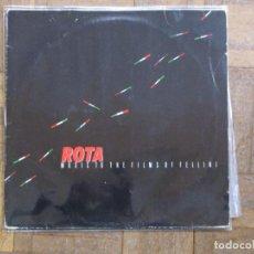 Disques de vinyle: NINO ROTA. I COMPANI. MUSIC TO THE FILMS OF FELLINI. ITM, 0026. GERMANY, 1987.. Lote 189543898