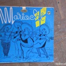 Discos de vinilo: MARIACHI MEXICO. MUSART, ED 90. 1960, MÉXICO.. Lote 189552548