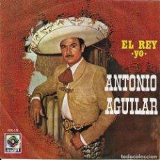 Discos de vinilo: ANTONIO AGUILAR EL REY ZAFIRO 1974. Lote 189556107