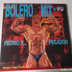Discos de vinilo: BOLERO MIX, FISTRO PECADOR, 1994 BLANCO Y NEGRO, 2 LPS. Lote 189564135